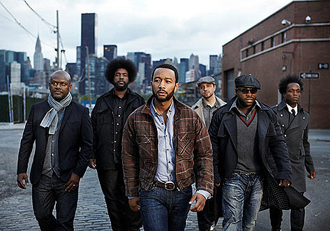 Quotable hip hop poets John Legend and The Roots.