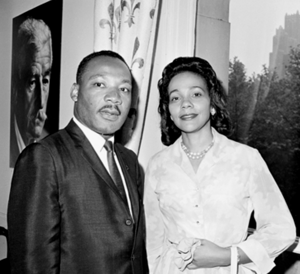 January 2012 Poem of the Month: American Widow Song for Coretta Scott King