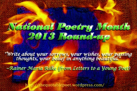 National Poetry Month Roundup at the Quotable Poet on WordPress