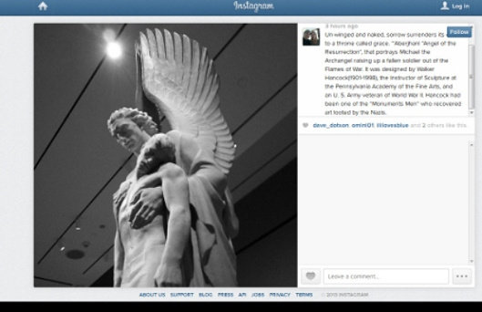 Unwinged and Naked quote by Aberjhani with Instagram photo by eaglemaiden